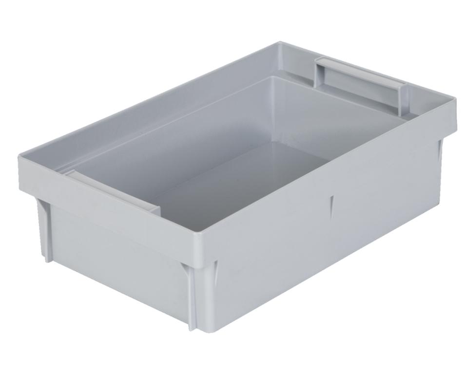 Einsatzkasten 1/4 für Eurobehälter 600 x 400 mm