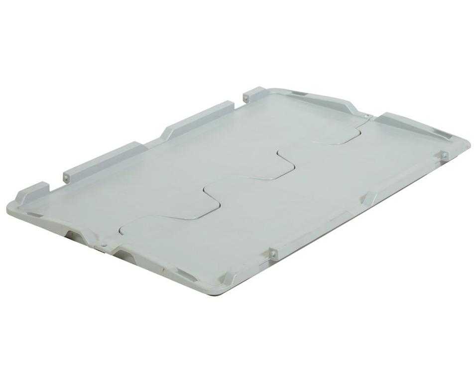 Krokodil-Deckel für Eurobehälter 600×400 mm