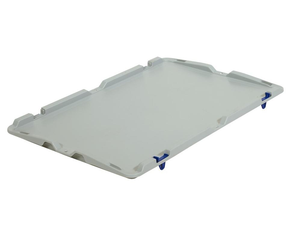 Deckel mit Scharnier für Euronormbehälter 600x400 mm