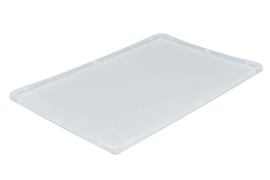 Transparenter Deckel für Eurobox 600 x 400 mm